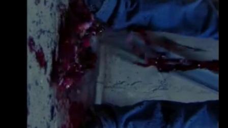 帅哥被怪物捅破肚皮,肠子散落一地
