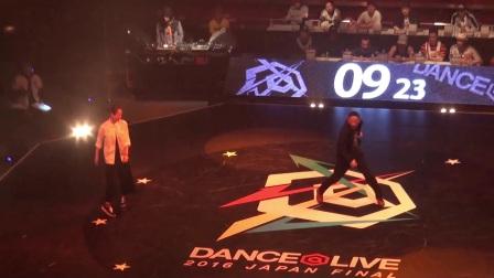 Miyu vs RYO aka DJ226 8进4 DANCE @LIVE JAPAN FINAL 2016