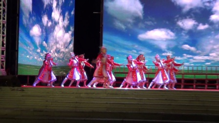 20180628七台河之夏 老年大学专场 蒙古舞蹈串烧《天边》