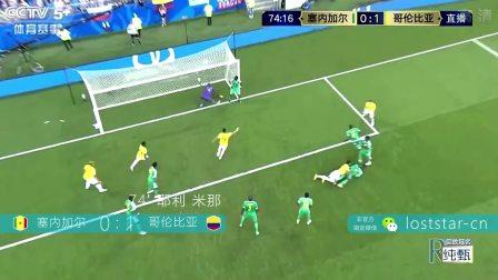 46-2018年俄罗斯世界杯塞内加尔0-1哥伦比亚