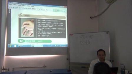 中医针灸推拿培训视频邱雅昌针对大间穴的解说