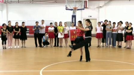 朱丽萍秦桃珍三步踩[金银铜]口令分解甘肃徽县教学版