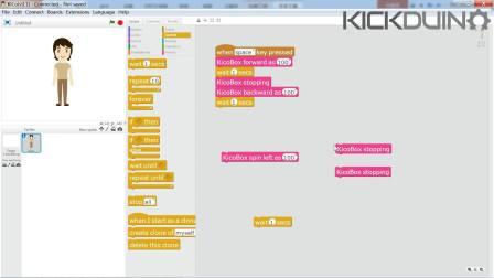 KicoBox Tutorials:Lesson4_Motor Driving