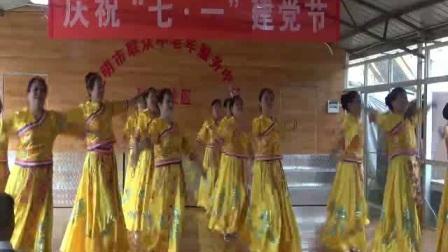 张三印象艺术团舞蹈:香格里拉的格桑花