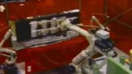 机器人搬运焊接