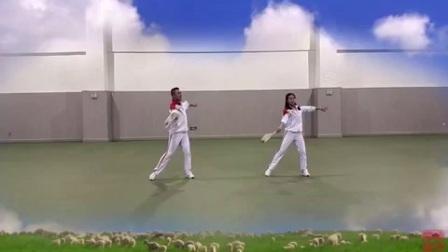 柔力球《呼和浩特大草原》第一段