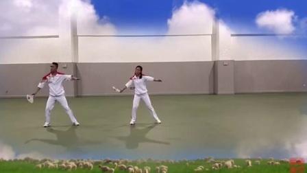 柔力球《呼和浩特大草原》第三段