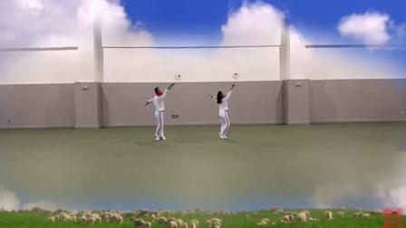 柔力球《呼和浩特大草原》第七段
