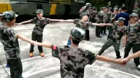 上海西点军事夏令营,西点小战士拓展训练活动开始咯