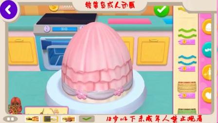 我的面包店帝国烘焙装饰和服务蛋糕儿童游戏有趣的学习游戏女孩的表