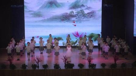 青岛为明学校小学部经典咏流传节目之《送别》一年三班