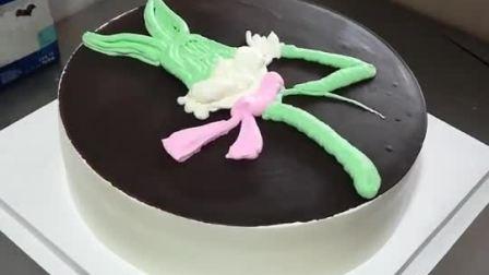 生日蛋糕制作教程 可爱吧!