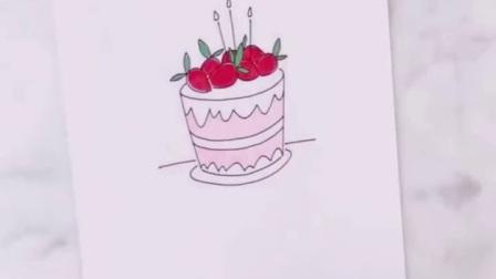清新小蛋糕🎂~上色篇