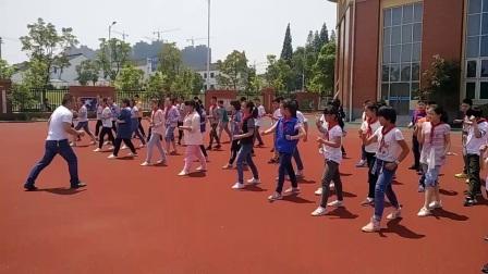 《50米快速跑》優質課(六年級體育,江蘇鎮江)
