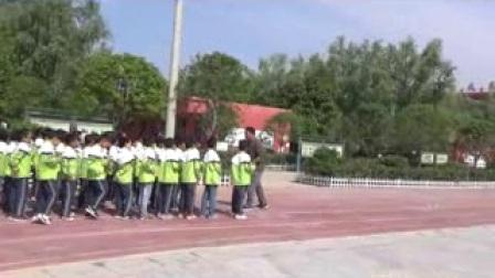 《50米快速跑-接力賽跑》優質課(科學版四年級體育,李闖)