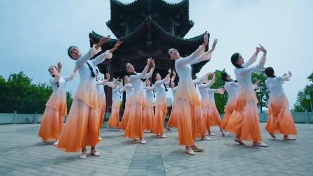 《探清水河》中国舞,单色舞蹈零基础一阶教练班学员结业作品