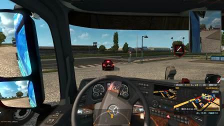 欧洲卡车模拟2:吧友投稿联机趣事第三期