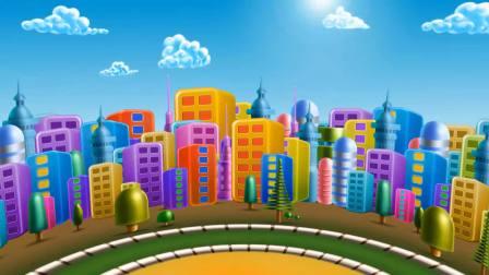 文宝游乐园玩卡车装沙子 挖掘机 亲子游戏 儿童玩具