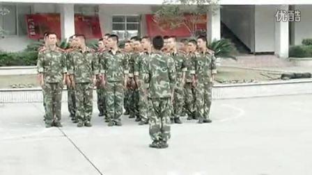 武警09式擒敌拳队列操练实拍1-16动,武术迷们,赶快来练练吧_高清