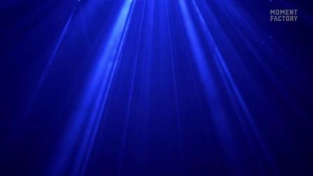 另类城市生活体验:光影魔法下的森林之夜