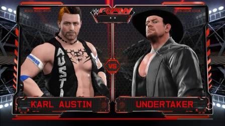 WWE2K17 首战 送葬者