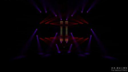 GrandMA2+MA3D灯光秀 模拟灯光秀 时间码 黑石传媒 毛毛-灯光小设计201703