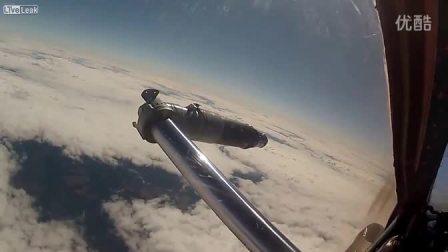 米格31猎狐犬截击机空中加油_高清