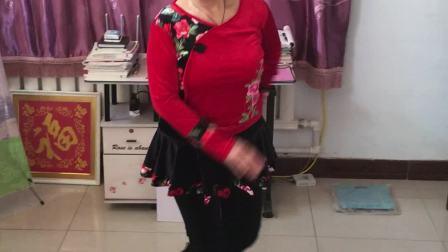 范水坑七十岁老人广场舞模仿 下扬州 爱生活的妞传