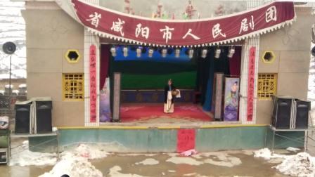 静宁县李店镇老山林村2017春季庙会——咸阳市人民剧团演出《五典坡》