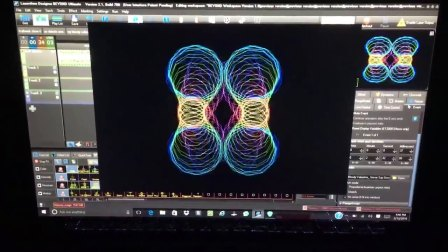 LASER ABSTRACTS - Created using Pangolin BEYOND