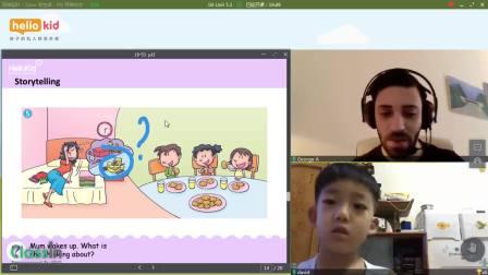 儿童线上英语培训,hellokid在线英语