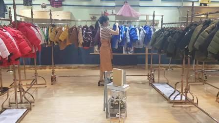 巴布豆童装棉服 专柜正品儿童棉衣货源清仓 品牌折扣童装分份