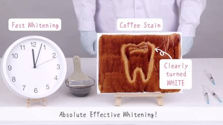 Fast Results Teeth Whitening Experiment One-Shot Video 【FW+PLUS】