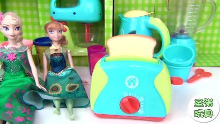 玩具宝宝为小马宝莉准备丰盛早餐, 好吃到怀疑人生