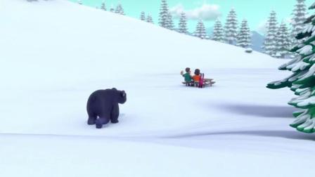 Paw patrol S04E09:Pups Save the Sleepwalking Bear/ Pups Save Dude Ranch Danny