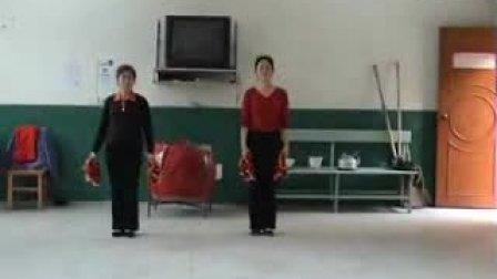 健身  学跳秧歌舞