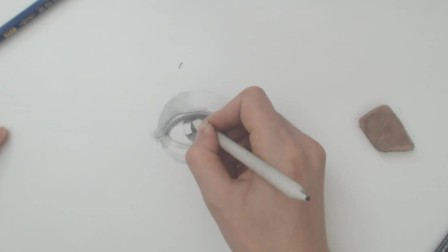 素描入门怎样才简单? 半小时带你学会素描眼睛的正确画法, 全程语音解析