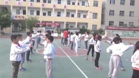 《弓步、弓步沖拳》優質課(科學版三年級體育,陳偉)