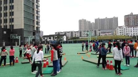 《蹲踞式跳遠》優質課(科學版五年級體育,江蘇省市級優課)