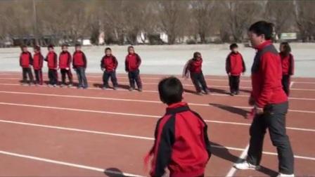 《各种跑的动作方法》优质课(冀教版体育1-2年级,新疆 闫慧玲)