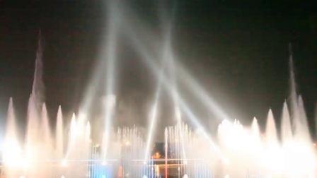 湖中音乐喷泉-泉州万达-喷泉水景