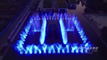 雕塑音乐喷泉-南海金融公园-喷泉水景