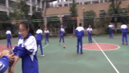 人教版高中体育与健康《排球正面双手垫球》(高中体育与健①康教师参赛获奖课例教学视频)