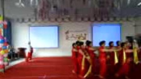 白银靖煤俏夕阳舞蹈队(咱们的领袖毛泽东)