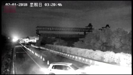 湖北襄阳:深夜,福银高速一越野车发生事故,开车男子却让女子顶包