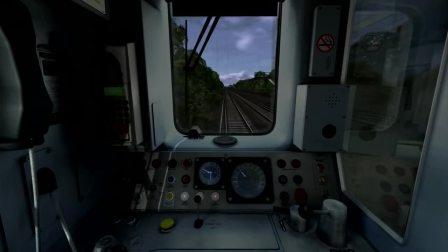模拟火车2018 驾驶教程 珀次么斯直达线:汉普顿宫苑——伦敦沃特卢 (Class 455/8) by PTGRail