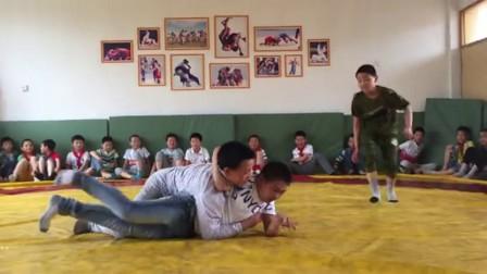 摔跤训练34