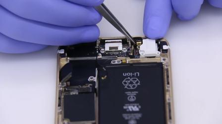 iPhone6苹果6换尾插充电口耳机孔教程视频【超清】