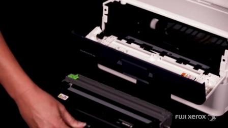 【富士施乐中国】 如何清洁鼓单元内的电晕线 - DocuPrint P288dw