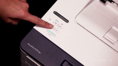 【富士施乐中国】 如何打印机器报告 - DocuPrint P288dw
